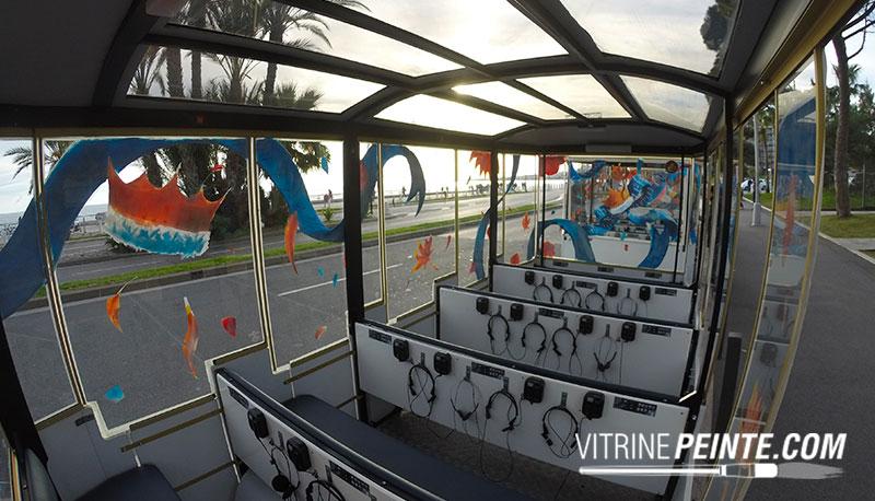 décoration carnaval de ville de nice concours vitrine magasin