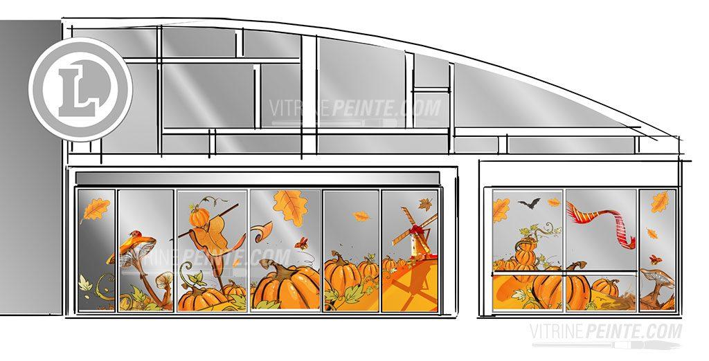 automne-halloween-deco-magasin-route.des.vins.idee-deco.peinture.vitrine.decoration.saison.automne.halloween.centre.commercial.gss