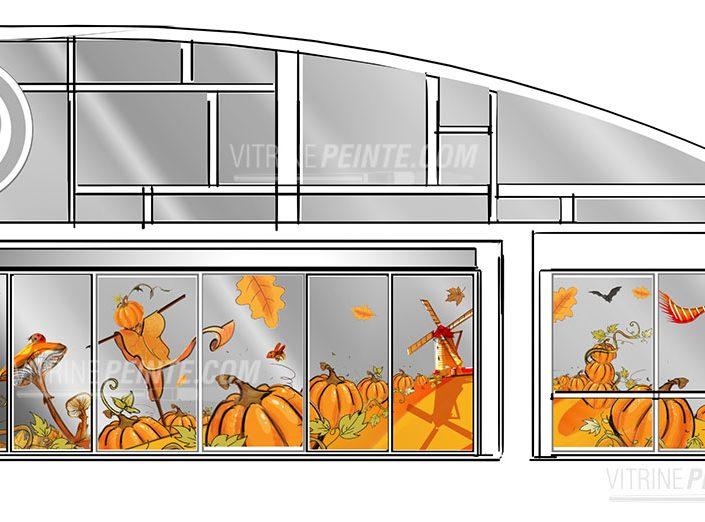 automne-halloweendeco-magasin-route.des.vins.idee-deco.peinture.vitrine.decoration.saison.automne.halloween.centre.commercial.gss
