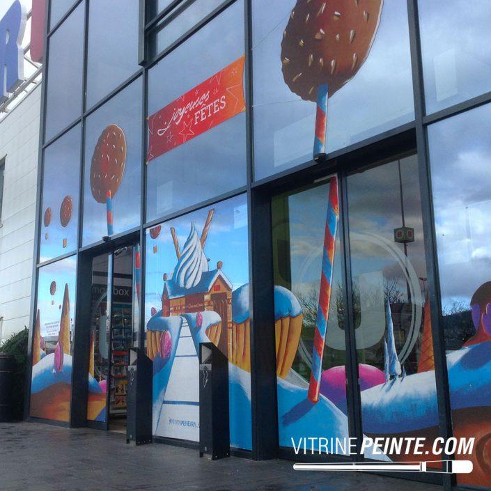Noël décoration centre commercial