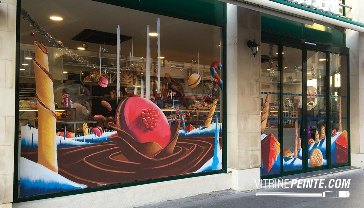 Vitrine gourmande // Décoration boulangerie / NICE
