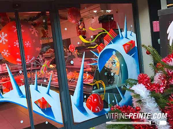 Décoration de Noël : Idée Déco & Peinture sur Vitre