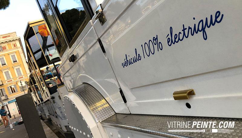decoration carnaval de nice vitrine magsain petits trains 100% electriques