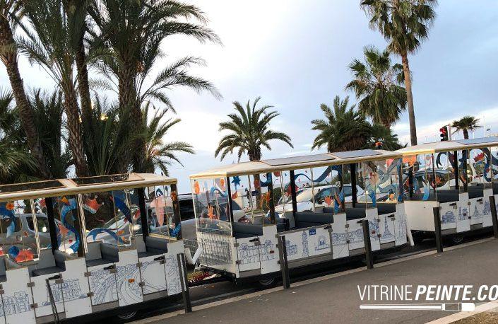 decoration carnaval de nice vitrine petits trains electriques