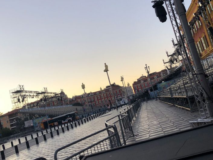 carnaval de Nice préparatif