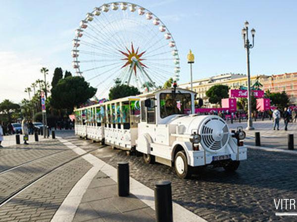 Nice Tourisme / Décoration Petits trains 100% électrique