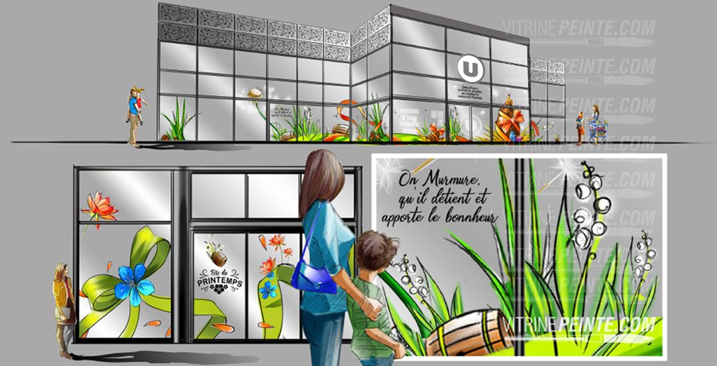 comment.optimiser.vente.muguet.virine.magasin..decoration.vente.fleur.centre.commercial